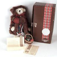 Gorham Beverly Port Hollybeary Kringle Musical Teddy Bear BP-11 Limited Edition