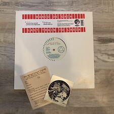"RARE Promo Banco De Gaia Last Train To Lhasa 12"" Single Vinyl (sleeve & inserts)"