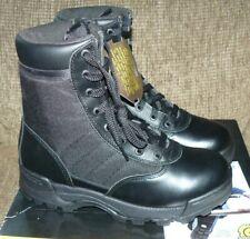 "Womens Original SWAT Tactical Boots Classic 9"" Side Zip 115211 Black Size 10 NEW"