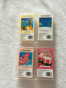 Wickford & Co. Scented wax melts - hibiscus & white sands, pineapple, hawaiin, s