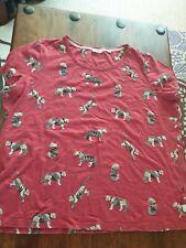 Fat Face ladies Cotton T Shirt Size 18