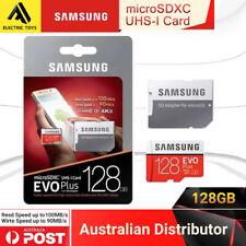 Samsung 128GB Evo Plus Micro SD Card SDXC Class10 100MB/s Memory 2018 4K UHD SYD