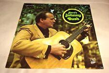 Johnny Bush Here's Sealed LP Starday