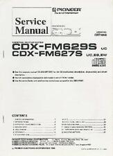 Pioneer Car Audio Service Repair Manual - DEH DEX P Radio CDX CD Changer