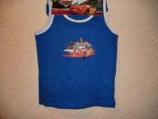 Disney Cars 2 teiliges Set Hemd + Slip Farbe Blau Größe 110-116 NEU & OVP