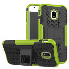 Hybrid Case 2teilig Outdoor Grün Tasche Hülle für Samsung Galaxy J5 J530F 2017