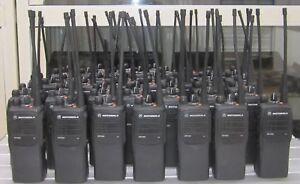 17 x Motorola GP340 GP 340 VHF 2 Meter Band Handfunkgerät  Betriebsfunkgerät