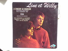 LINE ET WILLY A chacun sa chanson EUROVISION 1968