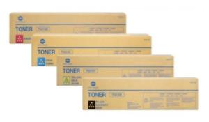 4 x Original Toner Konica Bizhub C240 C250 C252 / TN-210 K/C/M/Y Cartridges