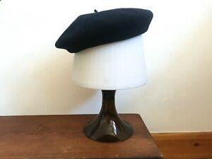 French Andorra Vintage Beret Basque Hat Womens Small