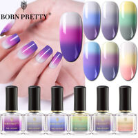 Color Changing Nail Polish 3-layers Colors Thermal Nail Art Varnish BORN PRETTY