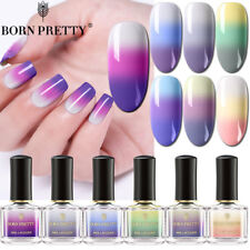 Color Changing Nail Polish 3-layers Colors Thermal Nail Art Varnish BORN PRETTY
