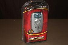 Sentry PR799 AM/FM Pocket Radio With Built-In Speaker New In Package