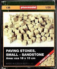 PLUSMODEL PLUS MODEL 138 - PAVING STONES SMALL SANDSTONE - 1/35 CERAMIC