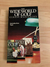 The Wide World of Golf Video Magazine Vhs Introduction Tape