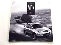 2002 Acura MDX 18-page Original Sales Brochure Catalog - Canada