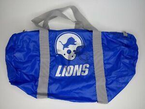 Vintage 1986 Detroit Lions Winston Promotional NFL Team Sports Bag New  Sealed