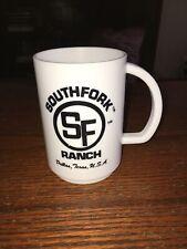 South Fork Ranch Dallas Texas Lorimar Productions Plastic coffee mug 1983