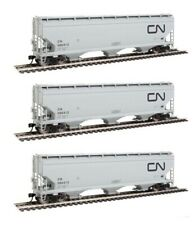 Walthers Mainline Canadian National 60' NSC 5150 3-Bay Covered Hopper - 3 Cars