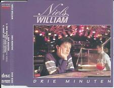 NIELS WILLIAM - Drie minuten CD-MAXI 4TR (INDISC) 1992 BELGIUM