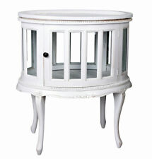 Perch Rank White servierschrank Side Table Home Bar Farmhouse Display Cabinet