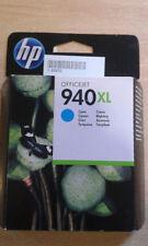 HP 940XL CYAN ORIGINAL - C4907AE- Caducada - caja desgastada