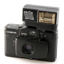 Cosina CX-1 and CX-11A Flash. 35mm Compact. Original Lomo LCA