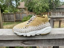 NIKE AIR FOOTSCAPE WOVEN CHUKKA QUICK STRIKE MEN SIZE 6 Woman's 7.5 gold