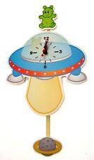 Wall Clocks Kids Clocks UFO Clock For Kids Childrens Wall Clocks