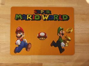 Super Mario World New Mouse Mat