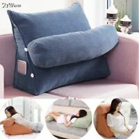 Bed Rest Back Pillow Support TV Reading Back Rest Seat Soft Sofa Chair Cushion