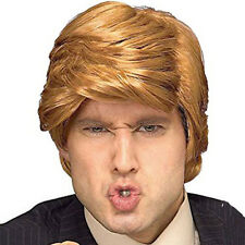 Donald Trump Wig Costume Accessory Billionaire Adult President Fancy Dress New