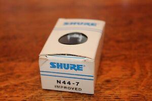 NOS Vintage Shure N44-7 Improved Turntable Cartridge Stylus