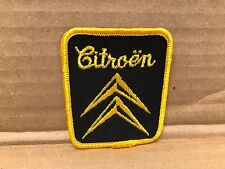 "VINTAGE ORIGINAL 1950/60'S EMBROIDERED CITROEN JACKET PATCH 2.5"" X 3"""