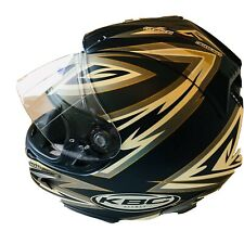 KBC Moto Design Snell Dot Force Shadow Helmet Size XL Air Tunnel Shield