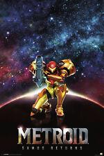 METROID SAMUS RETURNS 24x36 POSTER NINTENDO VIDEO GAME SPACE NEW GAMER COLLEGE!!