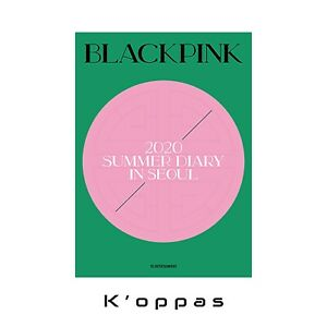 2020 Black Pink's Summer Diary In Seoul DVD Package Photobook+Photocard+Postcard