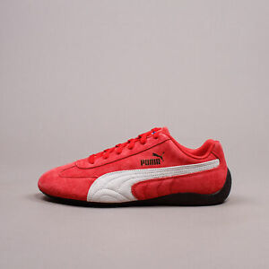 Puma Speedcat OG Sparco Red White Men New Shoes Racing Driving Rare 339844-05