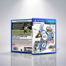 Madden 13 - Custom Replacement PlayStation Vita Cover&Case. NO GAME!!