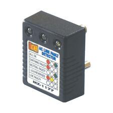 MX AC Power 3pin Socket Line Fault Detector Adaptor Power Fault Detector-MX 1177