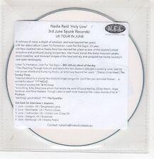 (HF780) Nadia Reid, Holy Low - DJ CD