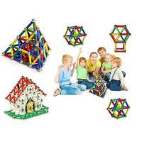UK 103 Pcs Kids Magnetic Sticks Building Blocks Educational Toys Children Gifts
