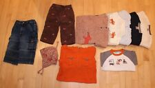 Lot of 10 Boys Fall Winter Sweater Hoodie Jeans Hat Size 12-18 Gymboree Fox