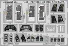 Eduard FE1156 Etched Aircraft Detailling Set 1:48 General-Dynamics F-16I SUFA