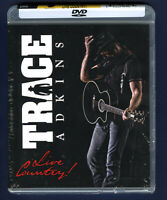 Trace Adkins: Live Country (DVD, 2015) Concert ! DTS ! Dolby Digital Surround 🔥