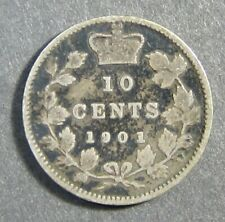 Canada 10 cents 1901  F (#495)