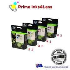 Genuine HP Set+Extra Black 940XL 2x C4908AA 1x C4906AA C4907AA C4909AA 5 inks