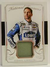 JIMMIE JOHNSON LOWES 5/25 RACE USED NASCAR PANINI NATIONAL TREASURES 2016