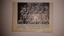 Macon Georgia Y.M.C.A. 1911-12 Basketball Team Picture