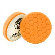Chemical Guys BUFX_102HEX6 - Hex-Logic Medium-Heavy Cutting Pad, Orange 6.5 Inch